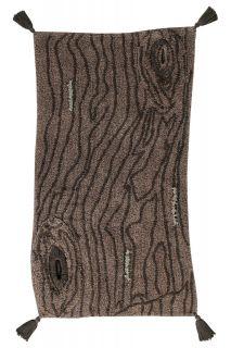 textured brown rug