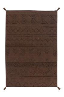 Washable rug Tribu Soil Brown