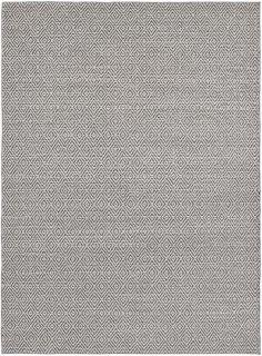 grey area rug with aztec diamond design