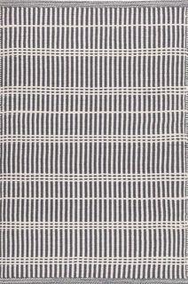 grey stripe indoor/outdoor rug