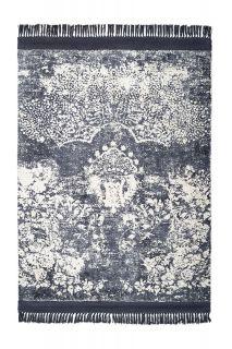 vintage style rug in purple