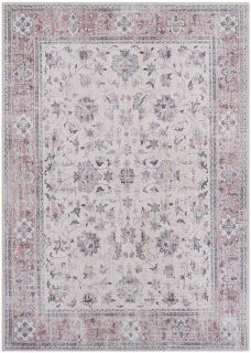 traditional style area rug with Persian inspired design