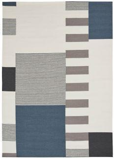 Linie Design Graphic Blue