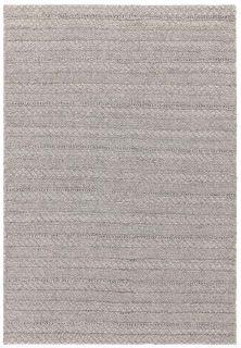 textured indoor/outdoor rug in grey