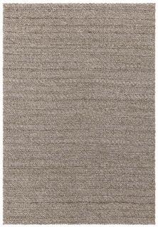 textured indoor/outdoor rug in taupe