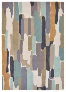 multicolour abstract indoor/outdoor rug