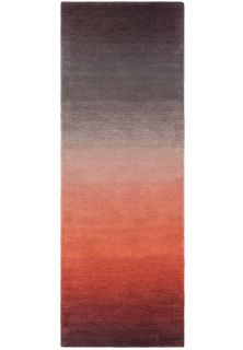 ombre red and black runner