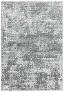 abstract silver area rug
