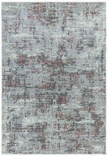 abstract pink and grey rug
