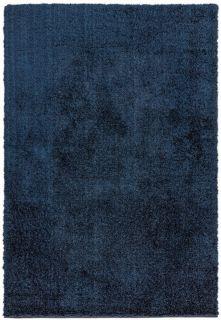 navy shaggy rug