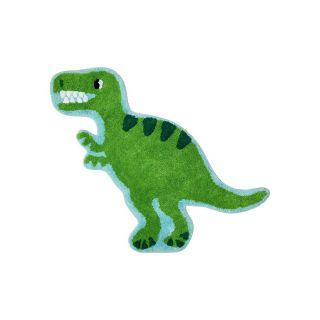 small dinosaur shaped kids rug