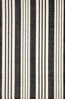 Birmingham Black Cotton Woven Runner 76x244cms