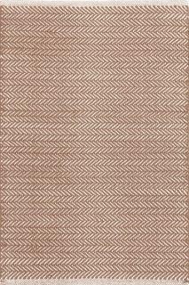 Herringbone Stone Cotton Woven Runner 76x244cms