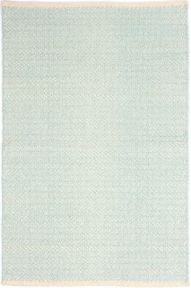Herringbone Sky Woven Cotton Runner 76x244cm