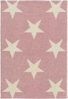 Star Pink/Ivory Indoor/Outdoor PET Rug