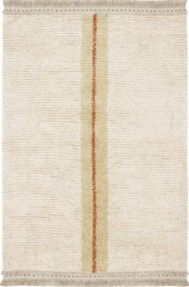 reversible textured rug in beige and sage