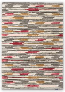 Sanderson Ishi Indian Red/Charcoal 146000