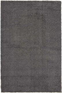 plain grey shaggy area rug