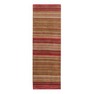 red striped runner