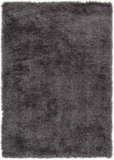 plain grey shaggy rug