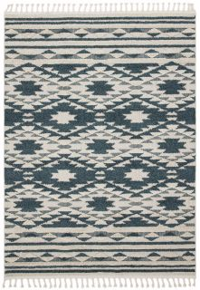 green moroccan style rug