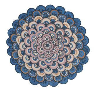 Ted Baker Masquerade Blue Circle 160008