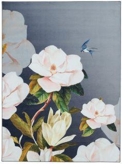 grey floral ted baker rug