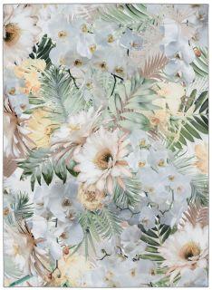 duck egg blue floral ted baker rug
