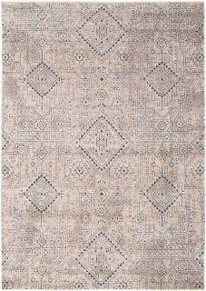 aztec style area rug in beige