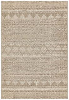 moroccan style indoor/outdoor rug in beige