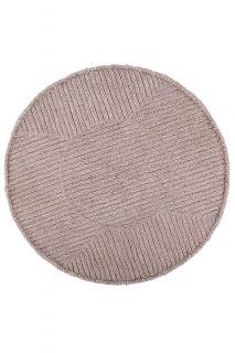 round pink lorena canals rug