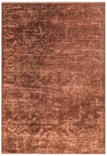abstract rust rug