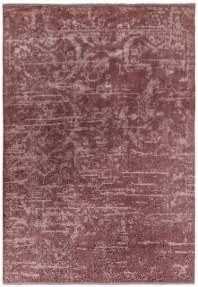 pink persian style rug