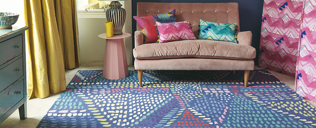 Artistic Rugs from Bluebellgray